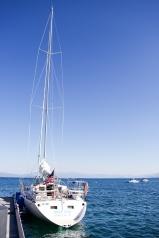 Tahoe Sailing Charter boat